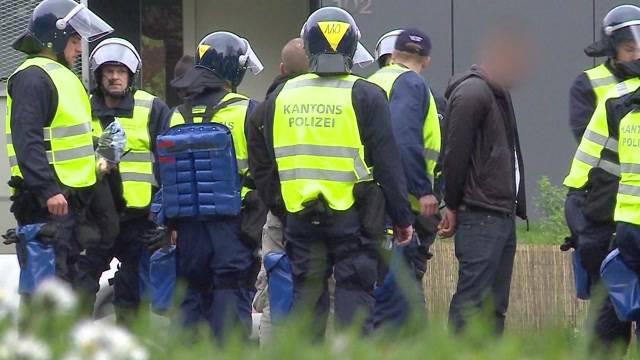 Aargauer Polizisten