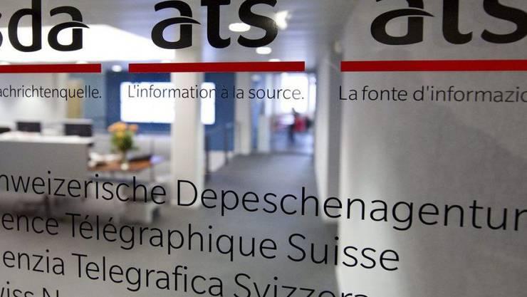 Die Schweizerische Depeschenagentur (SDA) bekommt die Krise der Schweizer Medien mit aller Härte zu spüren. Die nationale Nachrichtenagentur der Schweiz muss in den kommenden zwei Jahren bis zu 40 ihrer 180 Stellen abbauen. (Archiv)