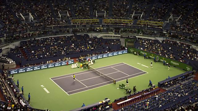 Wird noch besser überwacht: Tennis-Stadion in Schanghai