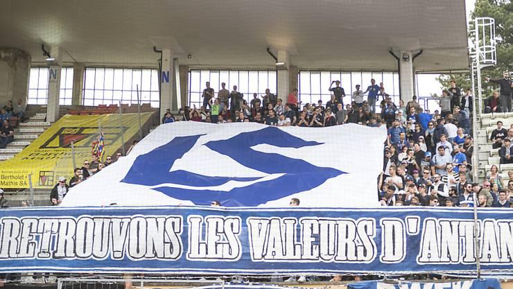 Lausanne-Sport verhängt schweizweites Stadionverbot für Fussballchaoten. (Symbolbild)