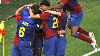 Barcelona holt den CL-Titel