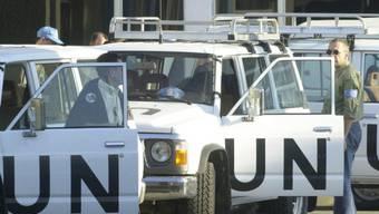 UNO-Waffeninspektoren in der irakischen Hauptstadt Bagdad (Archiv)