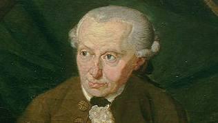 Der grosse Aufklärer Immanuel Kant auf einem Gemälde von Gottlieb Döbler von 1791.