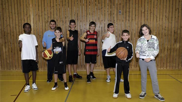 Die Junioren des Basketballclub Bluebacks Grenchen sind motiviert und schauen erwartungsvoll in die Zukunft.Oliver Menge