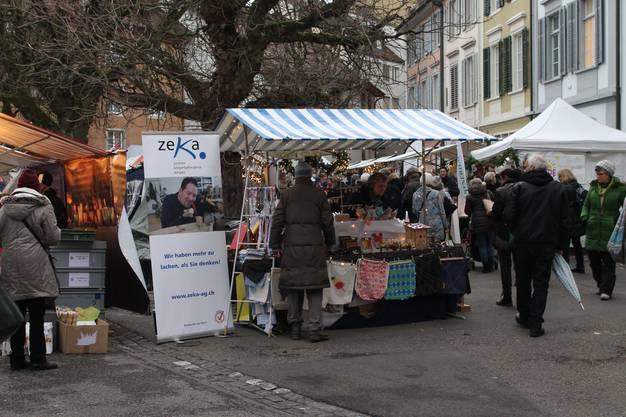 Der Badener Adventsmarkt lockt jährlich viele Besucher an