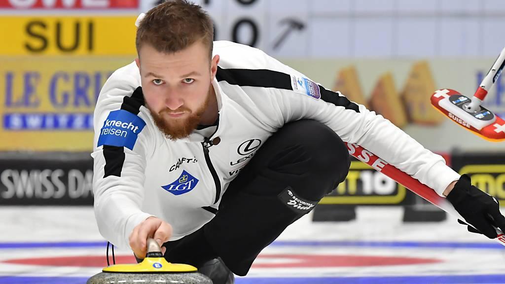 Schweizer Curler gewinnen Silbermedaille