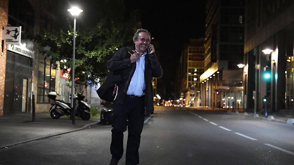 Polizei entlässt Ex-UEFA-Präsident Platini aus Gewahrsam