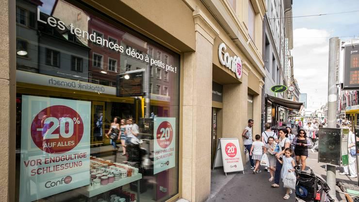 Exodus Im Kleinbasel Weitere Läden Machen Dicht Basel Stadt