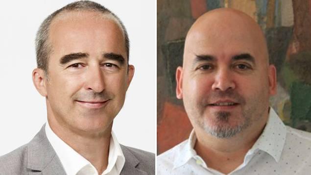 Paul Zübli und Daniel Franz, die neuen Rektoren der Kantonsschulen Wettingen und Baden ernannt.