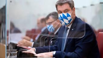 CSU-Chef Markus Söder im bayrischen Landtag.