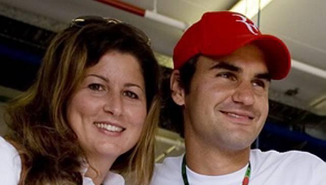 Mirka und Roger sind ein glückliches Paar