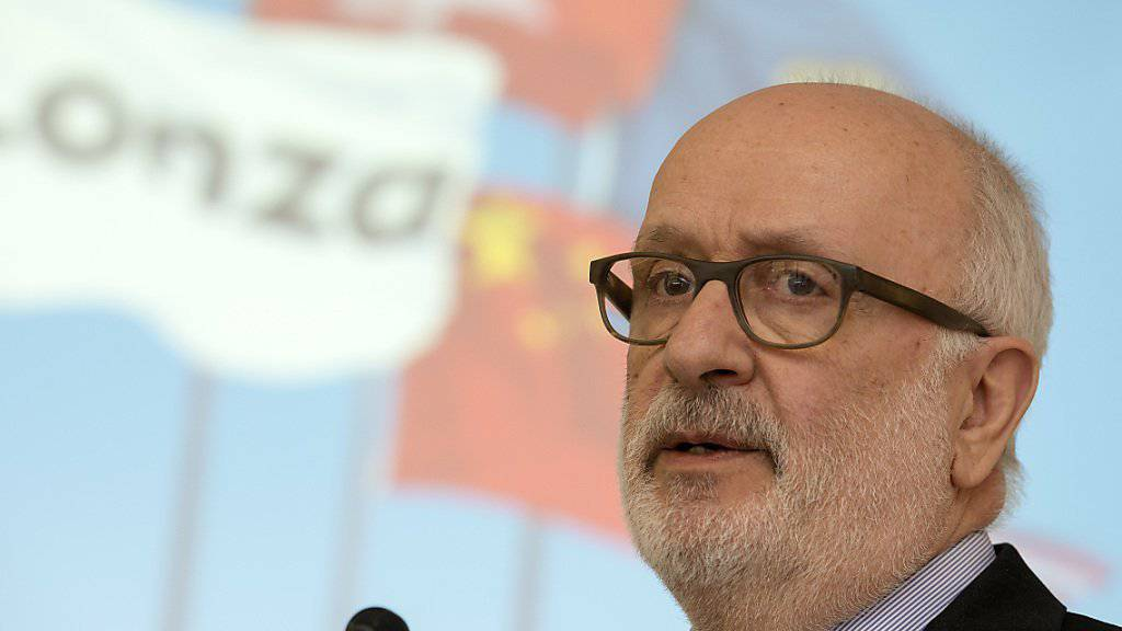 Rolf Soiron sucht nach eigenem Nachfolger bei Lonza. (Archiv).