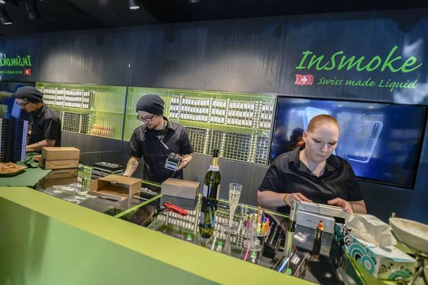 Der neue E-Zigaretten Shop in Winterthur