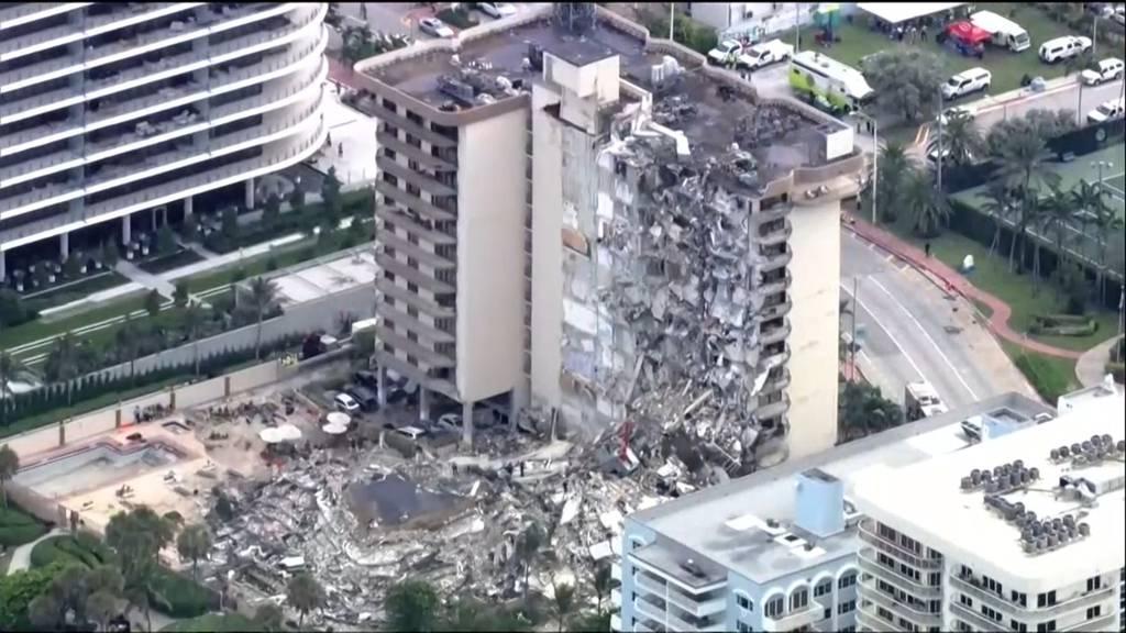 «Wir geben nicht auf»: Verzweifelte Suche nach Überlebenden nach Hauseinsturz in Miami