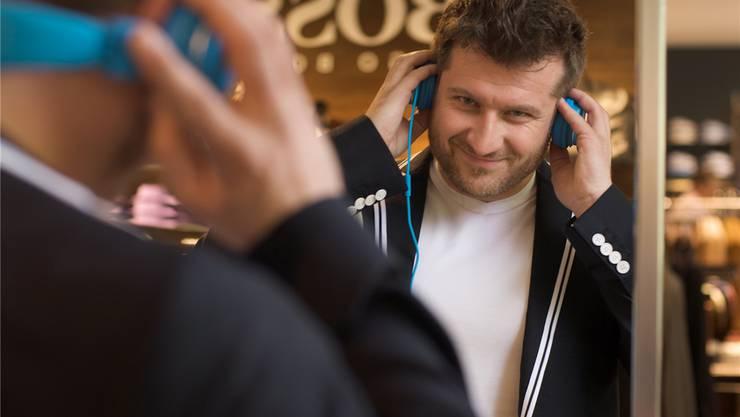 «Wir können nicht alle glücklich machen», sagt Alexander Dal Farra, der für die Hintergrundmusik im Untergrund des Hauptbahnhofs verantwortlich ist.Barbara Hess/zvg