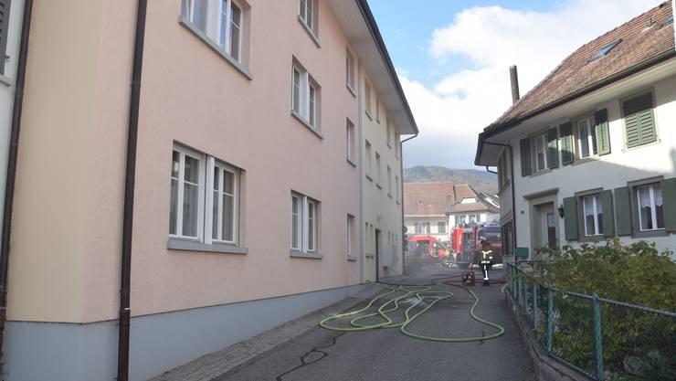 Vergangenen Sonntag brannte eine Wohnung in Mümliswil.