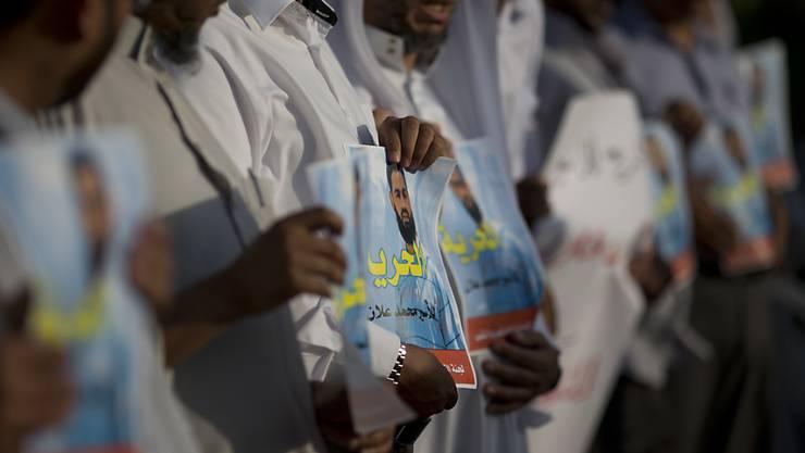 Sie forderten die Freilassung des palästinensischen Anwalts Mohammed Allan: Nun wurde der 31-Jährige aus der Verwaltungshaft entlassen. (Archiv)