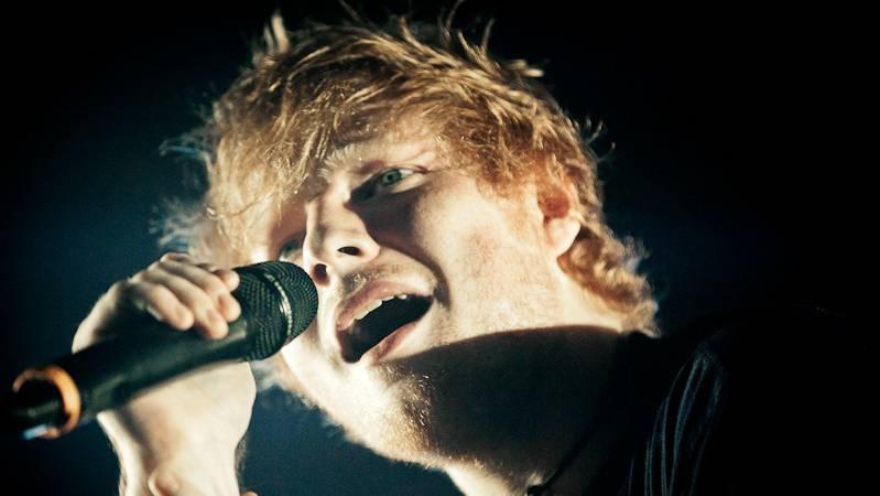 Ed Sheeran ist auf Platz 4