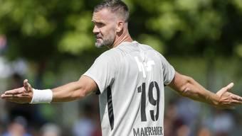 Stefan Maierhofer ist eines der Sorgenkinder beim FC Aarau