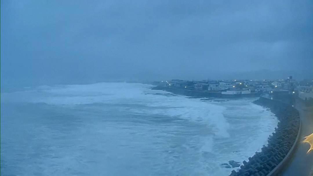 Zweiter Taifun in einer Woche: Hunderttausende Japaner sollen ihre Häuser verlassen