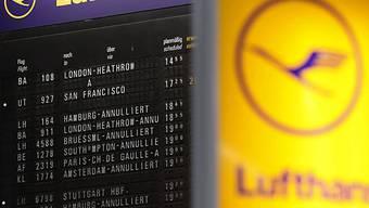 Lufthansa verlegt Flieger nach Frankfurt