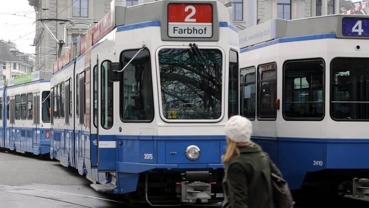 Die Zahl der Unfälle mit Trams und Bussen VBZ ist zurückgegangen.