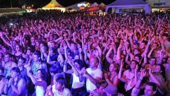 Viel Publikum und tolle Stimmung am FeelGood-Festival in Niedergösgen.