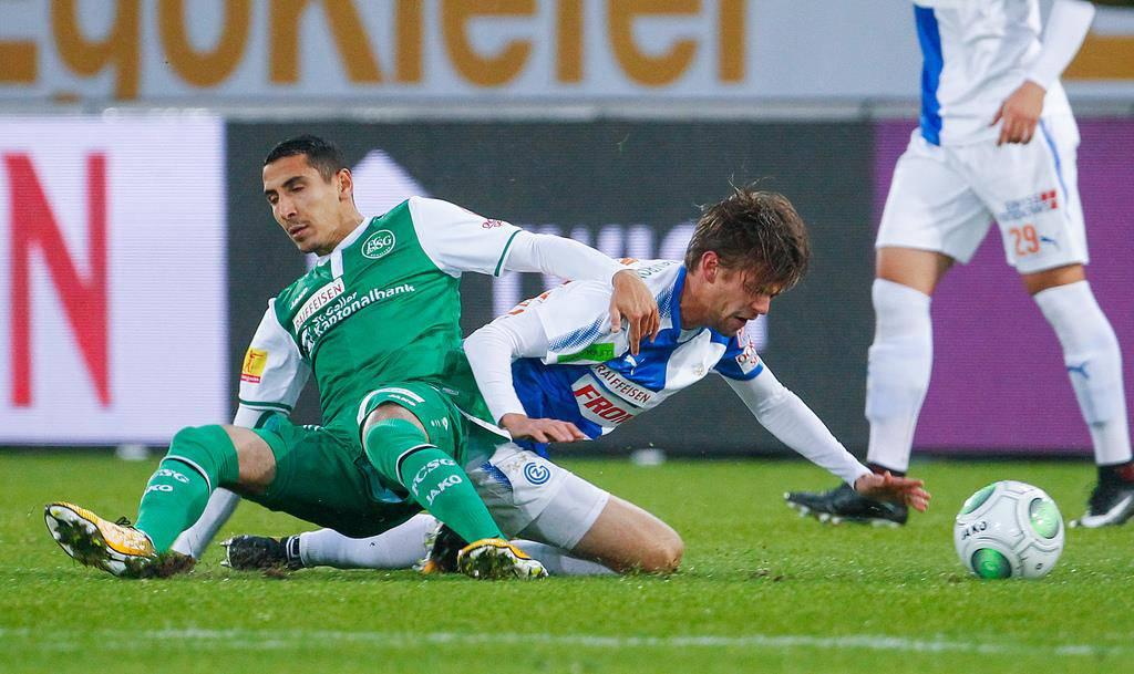 FCSG-Kicker Yannis Tafer (© Keystone/Eddy Risch)