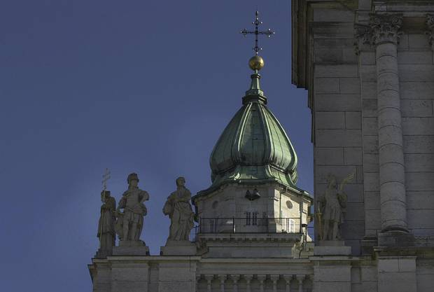 Der St. Ursenturm spielte am 4. Juli 1954 eine zentrale Rolle
