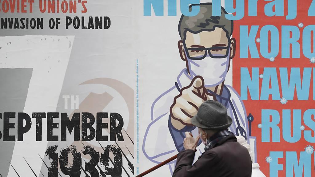 Höchstwert an Corona-Neuinfektionen in Polen