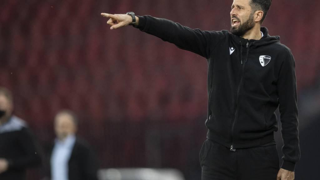 In Sion weg, in Frosinone gleich wieder mit einem neuen Job: Fabio Grosso