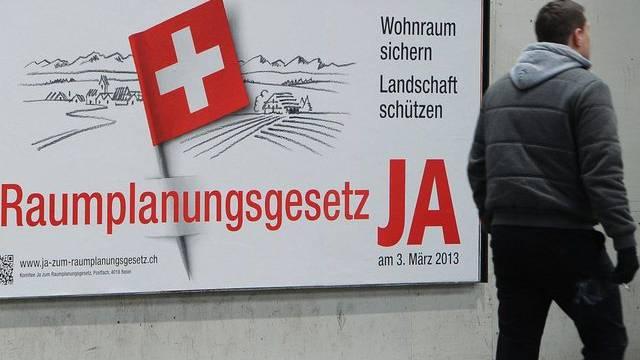 Plakat der Befürworter in Zürich