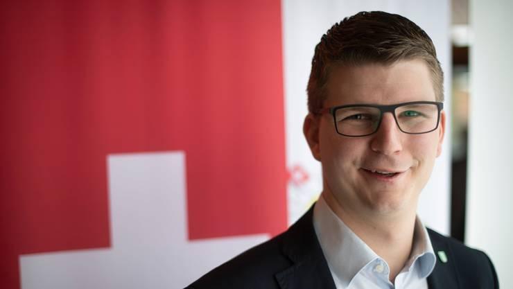 Nationalrat Mike Egger (St. Gallen): «Klar ist, dass die Stimme der Jugend in der SVP zurzeit nicht gebührend zu Wort kommt.»