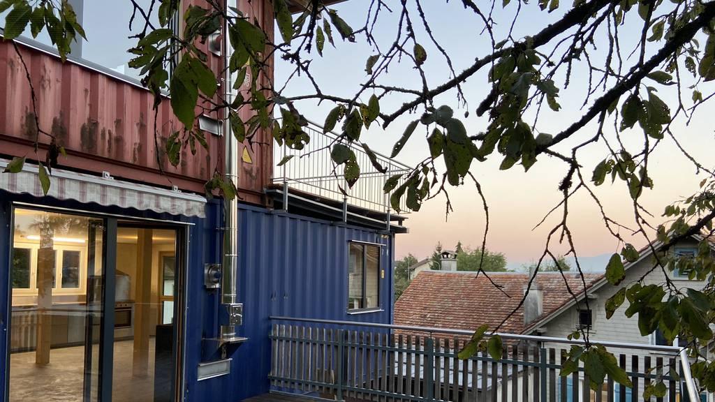 Das Containerhaus in Altstätten ist fertig – und so sieht es drinnen aus