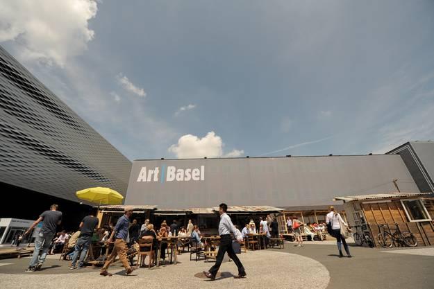 «Favela Café» an der Art Basel.