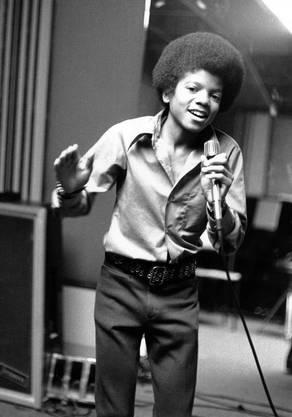1972: Michael Jackson ist 13 Jahre alt. Er ist das jüngste Mitglied der Jackson 5.