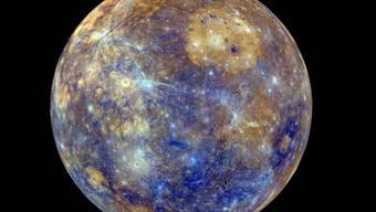 Auf dem Weg zum Merkur (Bild) passiert die Raumsonde BepiColombo am Donnerstag die Venus und versucht, Daten zu sammeln. (Bild Nasa)