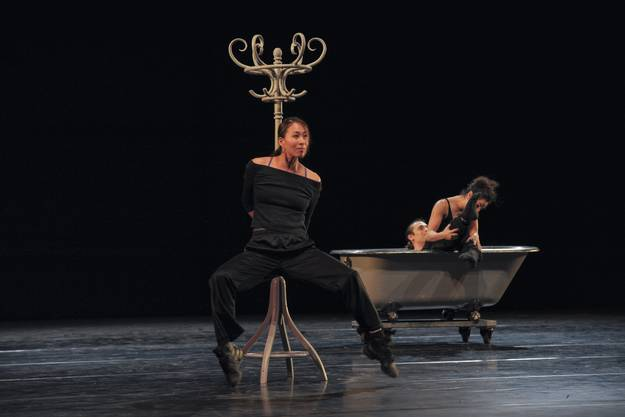Szenen aus der Neuen Ballettproduktion «Eugen Onegin».
