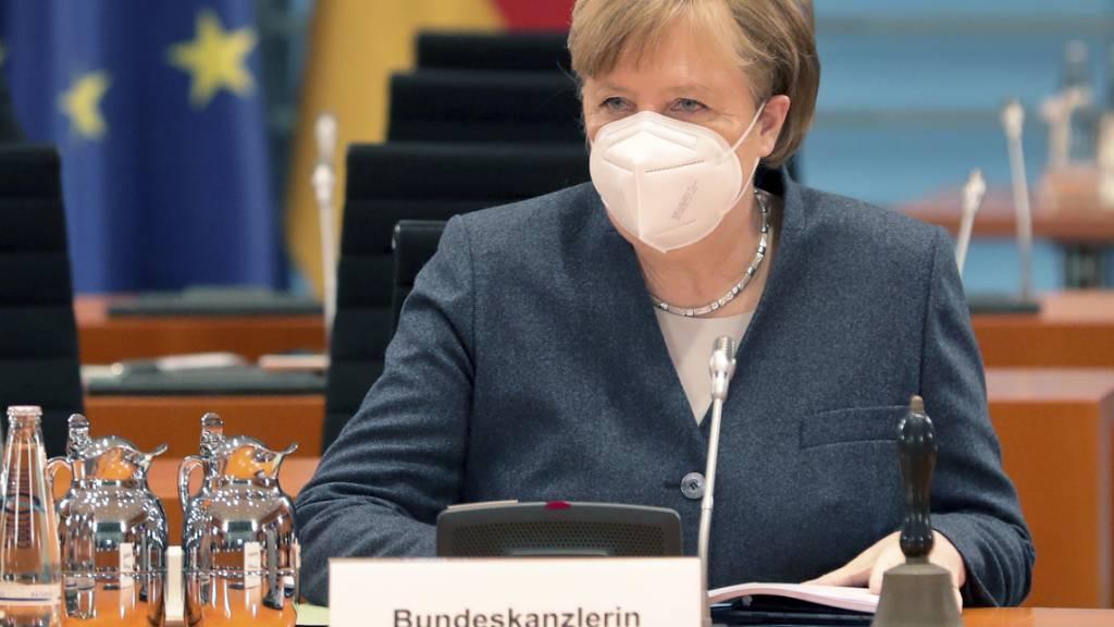 Merkel gegen jegliche Corona-Lockerungen vor 1. März