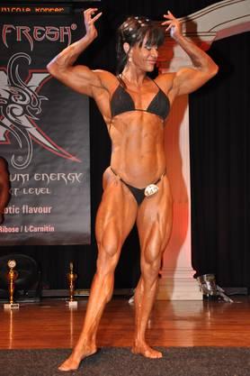Schweizer Meisterin Bodybuilding Frauen wurde Maud Petrucci