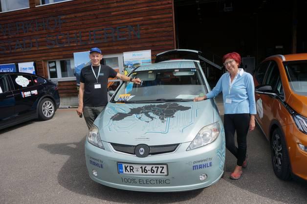 Aus Slowenien: Andrej und Jasna Pecjak mit ihrem Metron 7.