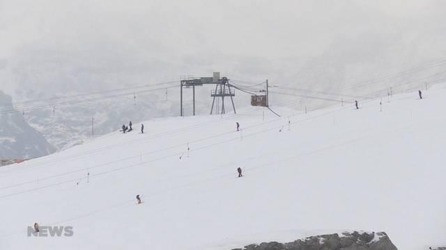 Die Skisaison läuft
