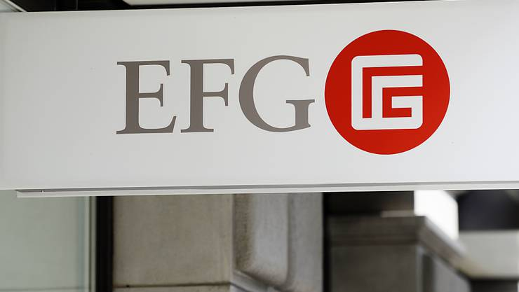Sondereffekte drücken auf Gewinn: Die Vermögensverwalterin EFG hat im ersten Halbjahr einen Gewinnrückgang hinnehmen müssen. (Archivbild)