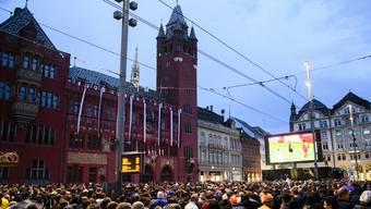 Tausende Fans bevölkerten am Finaltag die Basler Innenstadt – viel mehr als ursprünglich erwartet.