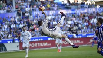 In alter Stärke: Cristiano Ronaldo zaubert gegen Alaves