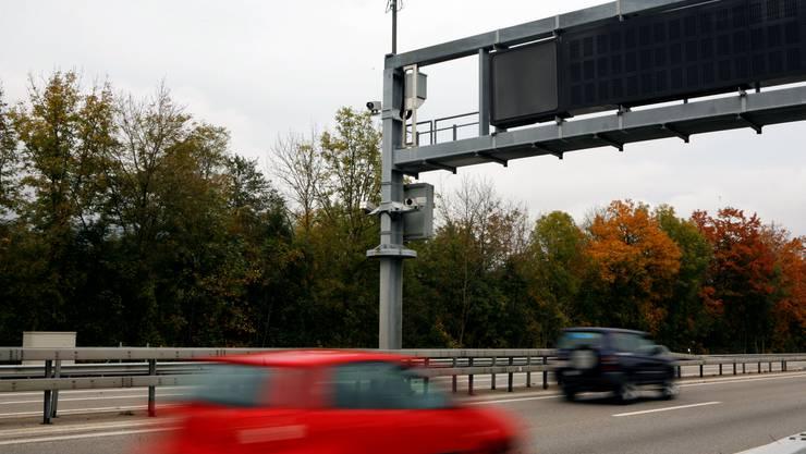 Walter Gurtner wollte fest installierte Radarfallen, wie diese hier zwischen Oensingen und Egerkingen, abschaffen.