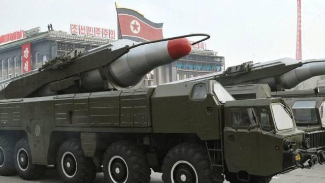 Abschussrampen für nordkoreanische Kurzstreckenraketen (Archiv)