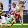 Emil Forsberg erzielte den Führungstreffer für Leipzig