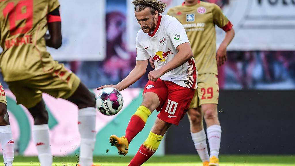 Leipzig siegt gegen Mainz, keine Tore in Wolfsburg