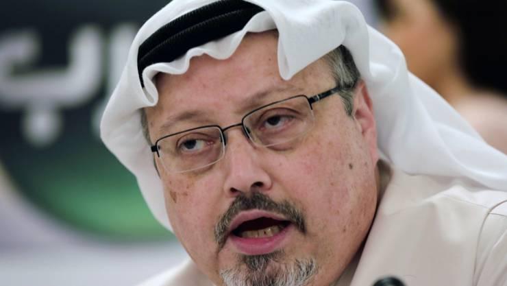Drei Monate nach dem Mord an dem regierungskritischen saudischen Journalisten Jamal Khashoggi (im Bild) hat in Saudi-Arabien der Prozess gegen elf Verdächtige begonnen. (Archivbild)